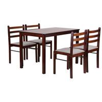 Комплект обеденный Брауни (стол+4 стула)