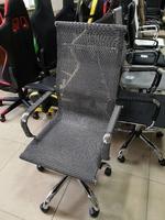 Кресло Аэро серебро