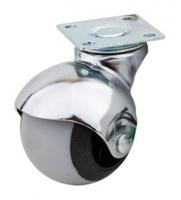 ролик резиновый с площадкой d-50мм круглый